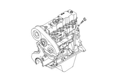Ремонт двигателя HYUNDAI PORTER 1 2,5 diesel D4BF
