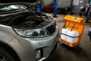 Аппаратная (полная) замена масла в автоматической коробке передач КИА SPORTAGE