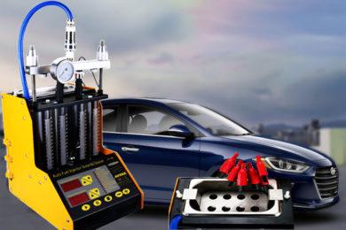Промывка и диагностика инжекторов (форсунок) Hyundai Elantra