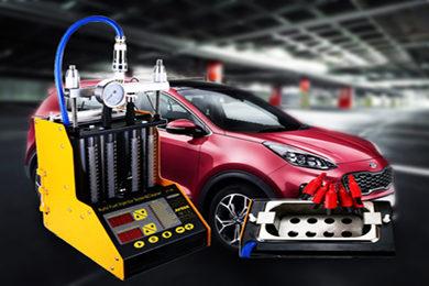 Промывка и диагностика инжекторов (форсунок) KIA Sportage