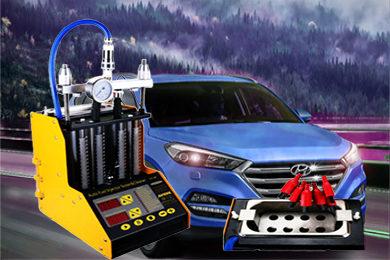 Промывка и диагностика инжекторов (форсунок) HYUNDAI TUCSON / IX35